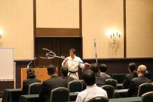 従業員向け防犯対策研修会と実地訓練講習会開催