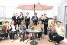 エールコート咲楽で入居者の方々と沢山お話ができたので嬉しかったです!