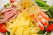 聖紫花 五目冷麺