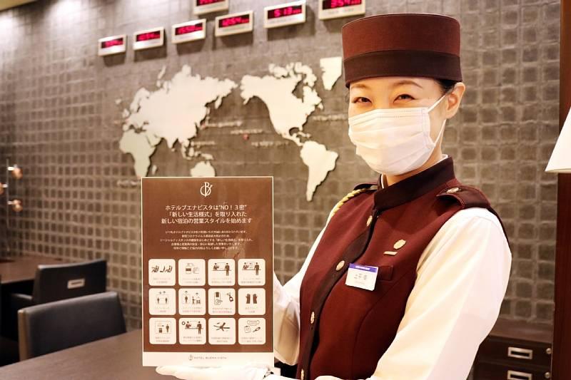 ホテルブエナビスタは3密を避け「新しい生活様式」を取り入れた新しいホテルの営業スタイルを始めています