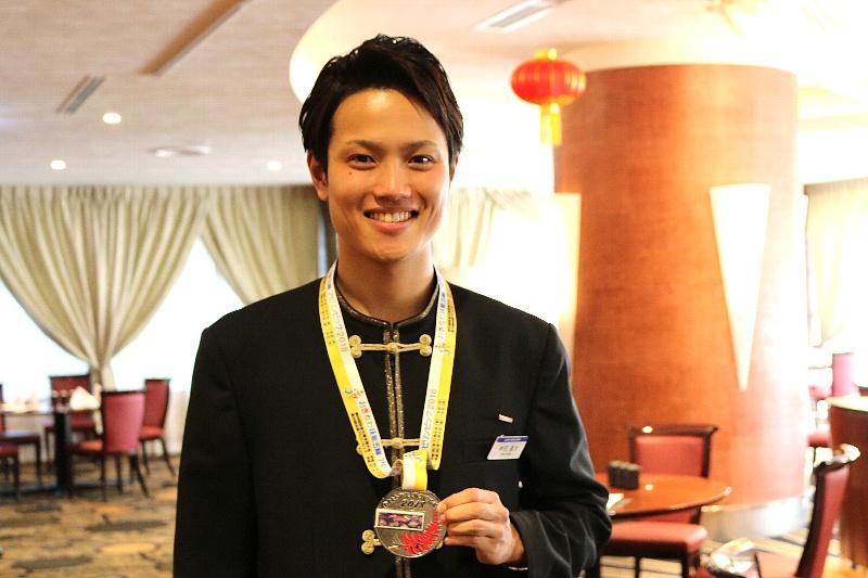 中国レストラン 聖紫花 神田蓮大(かんだれんた)21歳