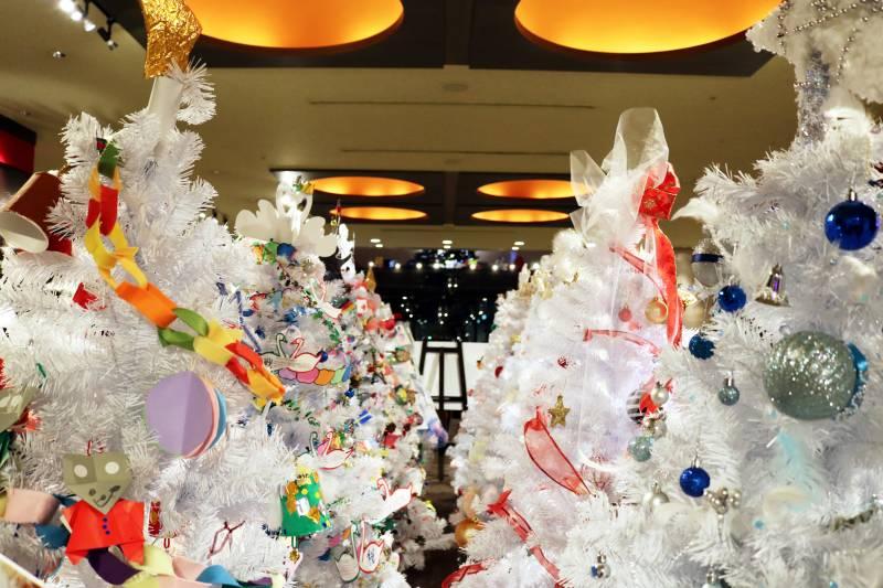 """ホテルブエナビスタ """"white""""クリスマスツリーデコレーションコンテスト 2018 開催!"""