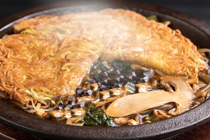 【聖紫花】松本鉄板松茸浮麺