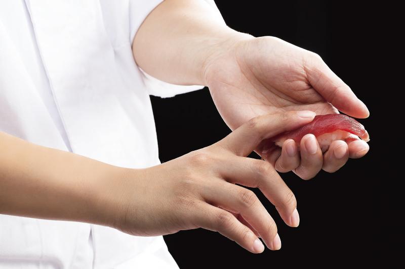 握り寿司実演通常価格 1,188円/1名様 特別価格1,000円/1名様20名様分より 組数限定