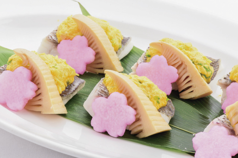 11.メイン(和) 桜鯛の菜種焼き