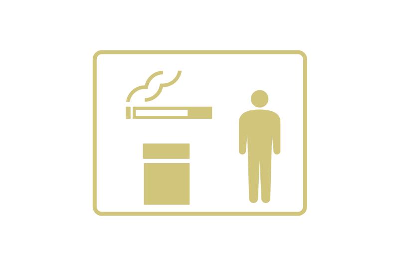 喫煙スペースの利用定員制限