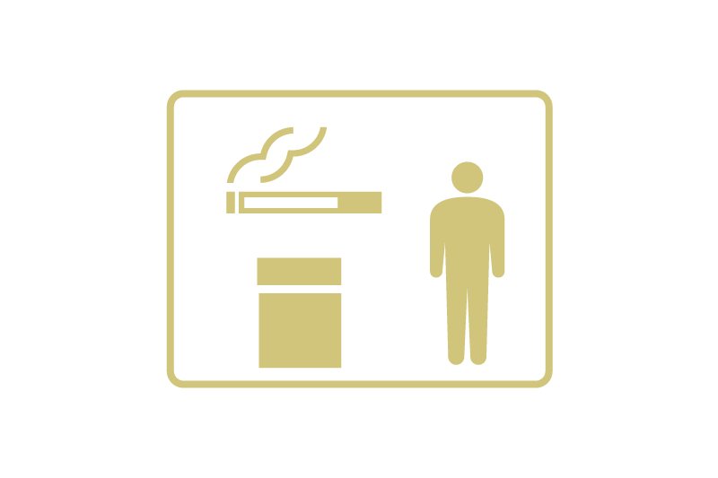 喫煙場所の定員制限