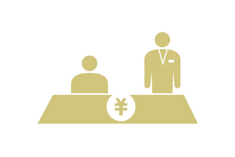 レジ前行列不要のテーブル会計も可能