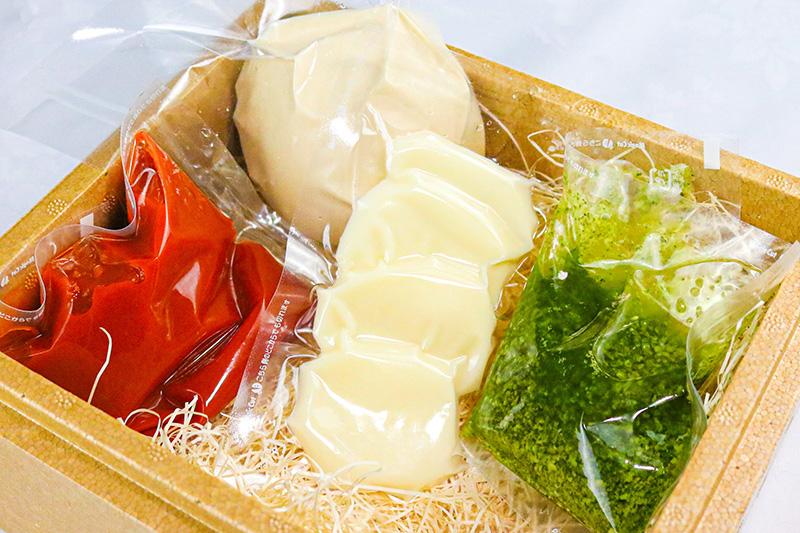 ⑤ 手作りマルゲリータピッツァセット ¥2,000