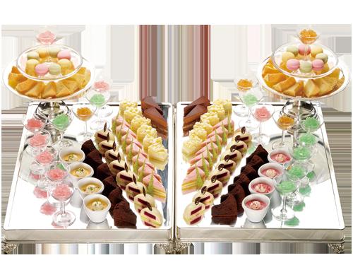 デザートブッフェ通常価格¥1,200/1名様⇒特別価格¥1,000/1名様●20名様分より