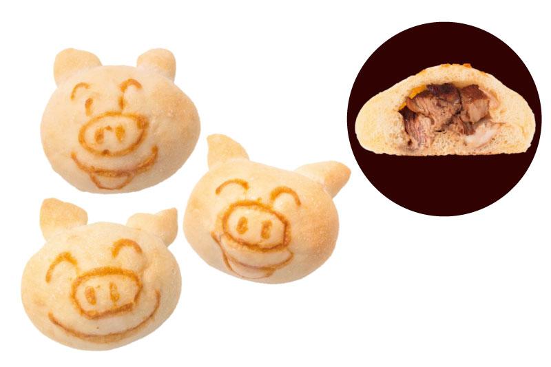 にっこり豚パン