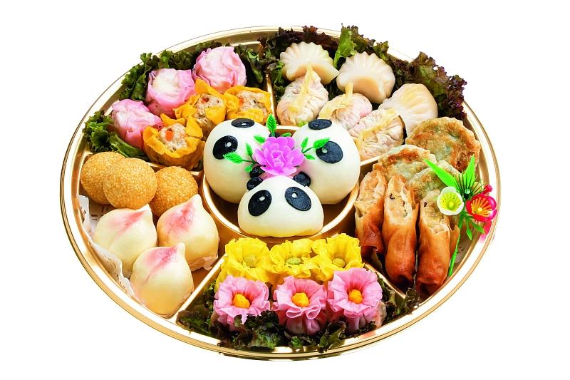 中国レストラン聖紫花 点心オードブル