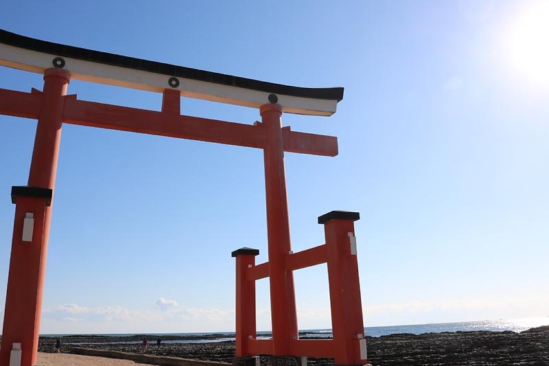 宮崎県の有名なパワースポット青島神社