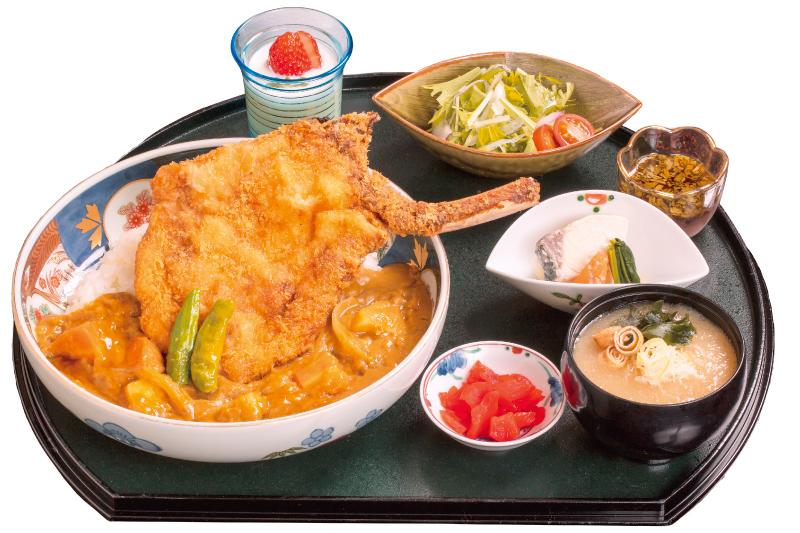 【松本カリーラリー】信州白馬豚トマホークカツカレー(2/1~3/31)