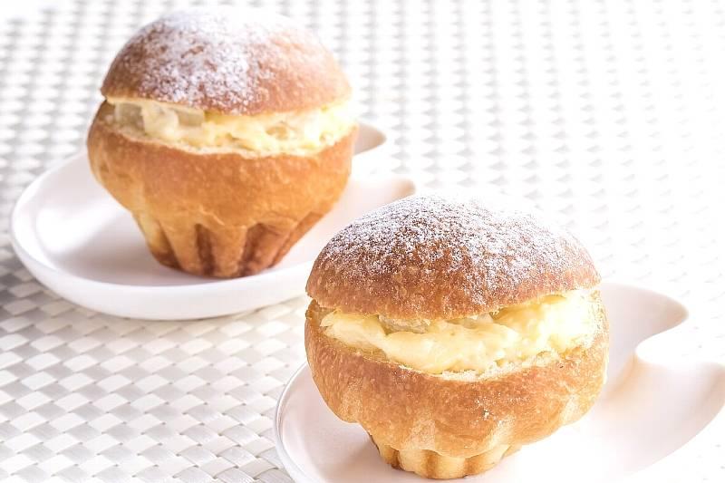 【冷爽(れいそう)フェア】冷やしピーチクリームパン