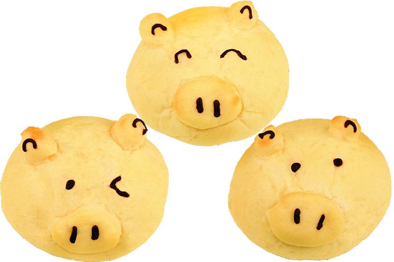 【パセオ】信州オレイン豚の角煮パン
