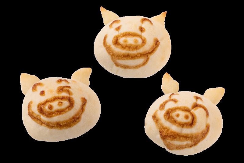 【信州オレイン豚フェア】にっこり豚パン(1/7~2/28)