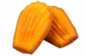 オレンジの風味豊かにしっとりと焼き上げた「オレンジマドレーヌ」
