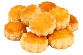 パルメザンチーズの塩味が効いたパイのような食感が楽しめる「チーズサブレ」