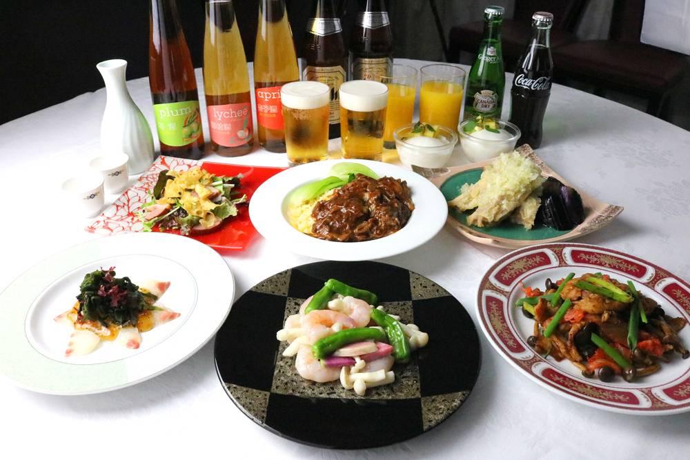 中国レストラン 聖紫花 宴会プラン 7・8月