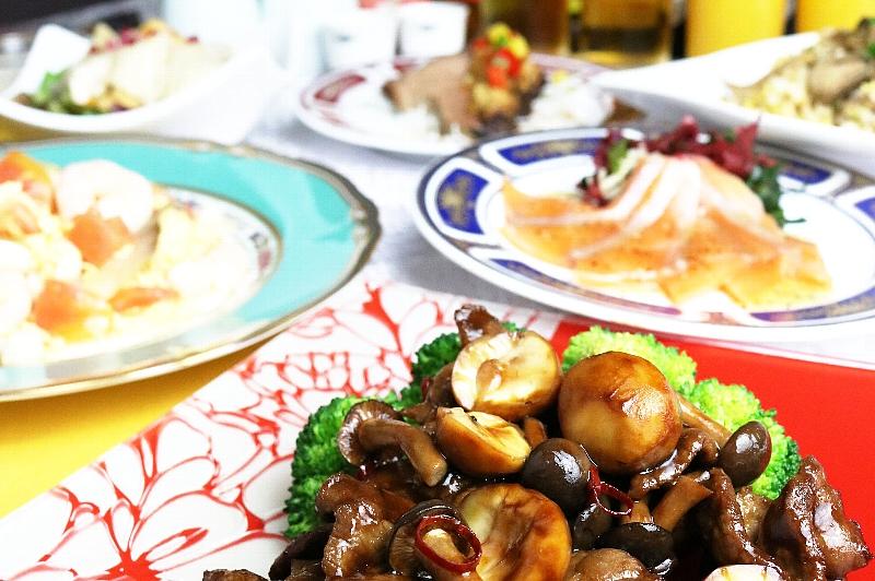 中国レストラン 聖紫花 宴会プラン 9・10月