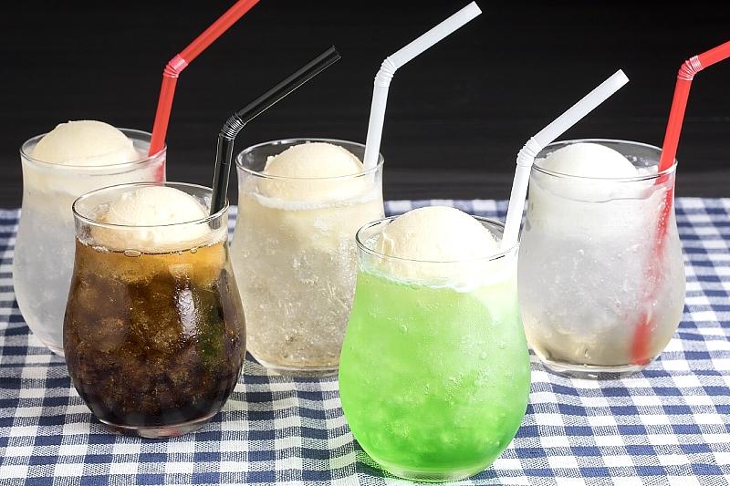 【冷爽(れいそう)フェア】選べる爽やかクリームソーダ