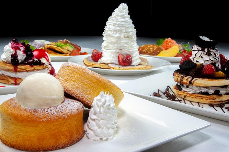 ラ・カフェテラサが贈る 魅惑のパンケーキ