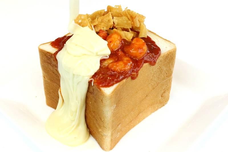 スパイシーエビチリ&チーズ by 中国レストラン聖紫花 上野料理長