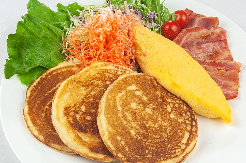 パワーサラダパンケーキ ¥1,500